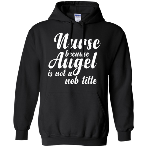 Because Angel Not Job Title T shirt