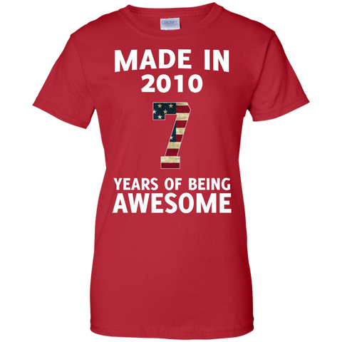 Kids Made 2010 AWESOME Heather T shirt