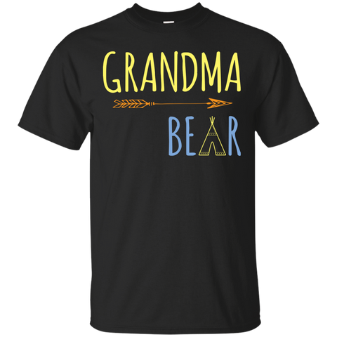 Womens Grandma Bear Medium Purple