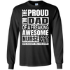 Image of Proud Freaking Awesome Nurse T Shirt