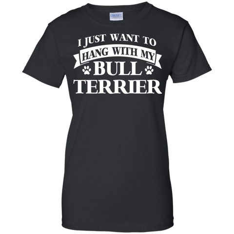 Bull Terrier Dog T Shirts Heather