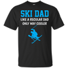 Image of Funny Ski Dad T Shirt