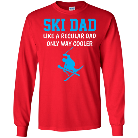 Funny Ski Dad T Shirt