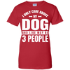 Image of About My Dog People T Shirt