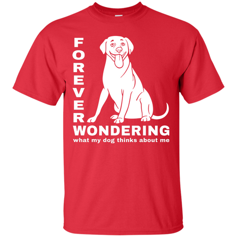 Forever Wondering Labrador Retriever T Shirt