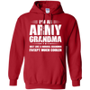 Image of Womens Army Grandma Shirt