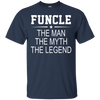 Image of Funcle Man Myth Legend T Shirt
