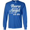 Image of Because Angel Not Job Title T shirt