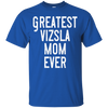 Image of Greatest Vizsla Mom T Shirt Heather