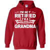 Image of Womens Shirt Retired Professional Grandma