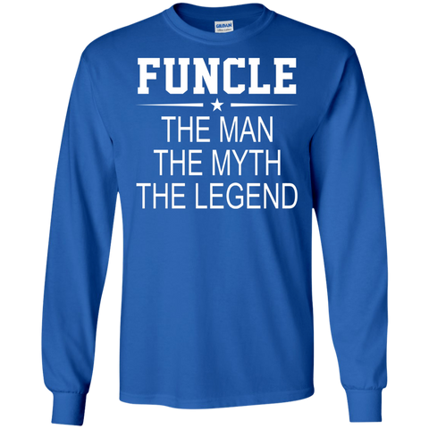 Funcle Man Myth Legend T Shirt