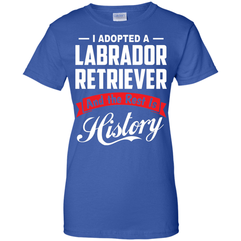 Adopted Labrador Retriever Rest History T-shirt