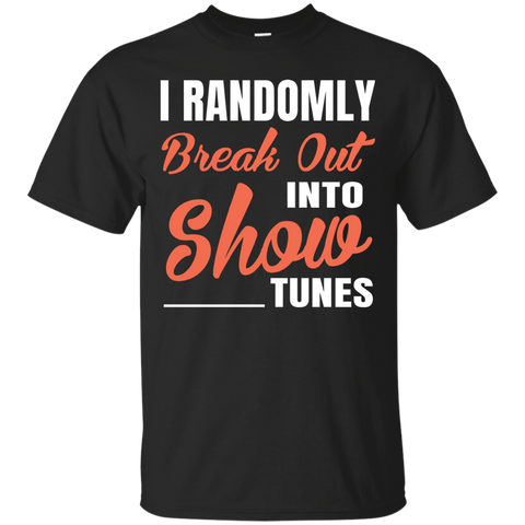 Womens Funny Randomly Break T shirt
