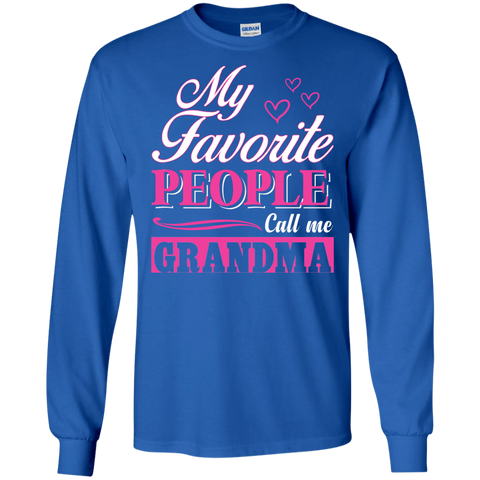 Favorite People Call Grandma T Shirt