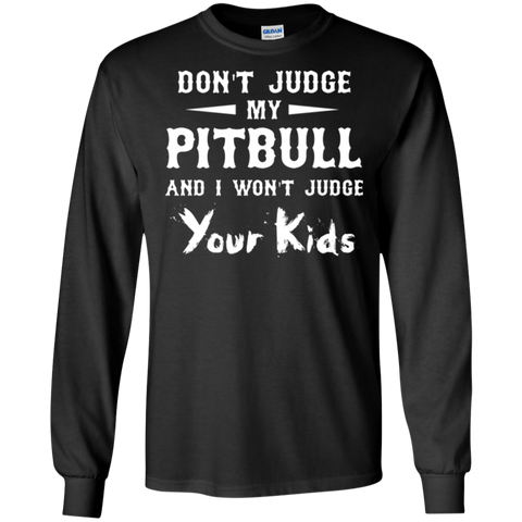 Mens Judge Pitbull T shirt - Tshirt for family
