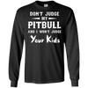 Image of Mens Judge Pitbull T shirt - Tshirt for family