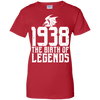 Image of Birth Legends Vintage Classic Cranberry T shirt
