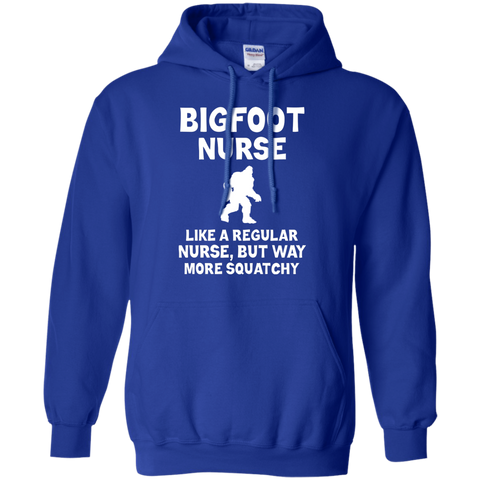 Bigfoot Nurse T Shirt Funny Sasquatch