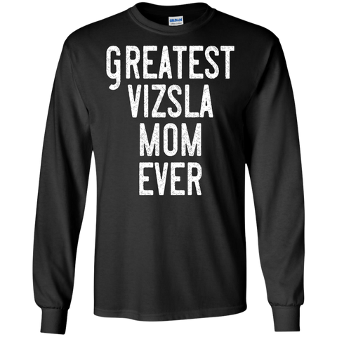 Greatest Vizsla Mom T Shirt Heather