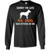 Image of Sorry Sitting Funny Pet T Shirt