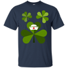 Image of Funny Nurse Doctor Shamrock Patricks T shirt