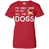Image of Funny Pet Dogs T shirt Heather
