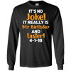 Image of Birthday Easter April Fools T Shirt