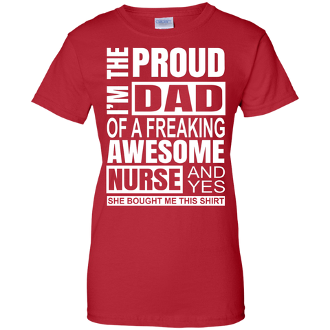 Proud Freaking Awesome Nurse T Shirt