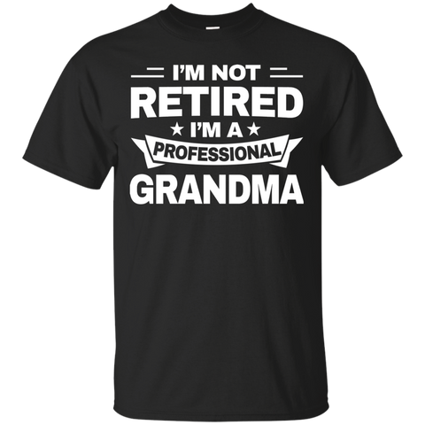 Womens Shirt Retired Professional Grandma