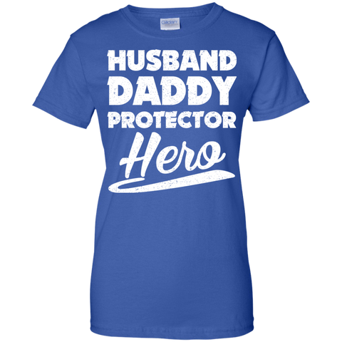 Husband Daddy Protector Funny T Shirt