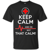 Image of Keep Calm That Funny Nurse T shirt