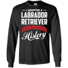 Image of Adopted Labrador Retriever Rest History T-shirt