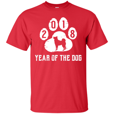 Chinese New Year 2018 Cranberry T shirt