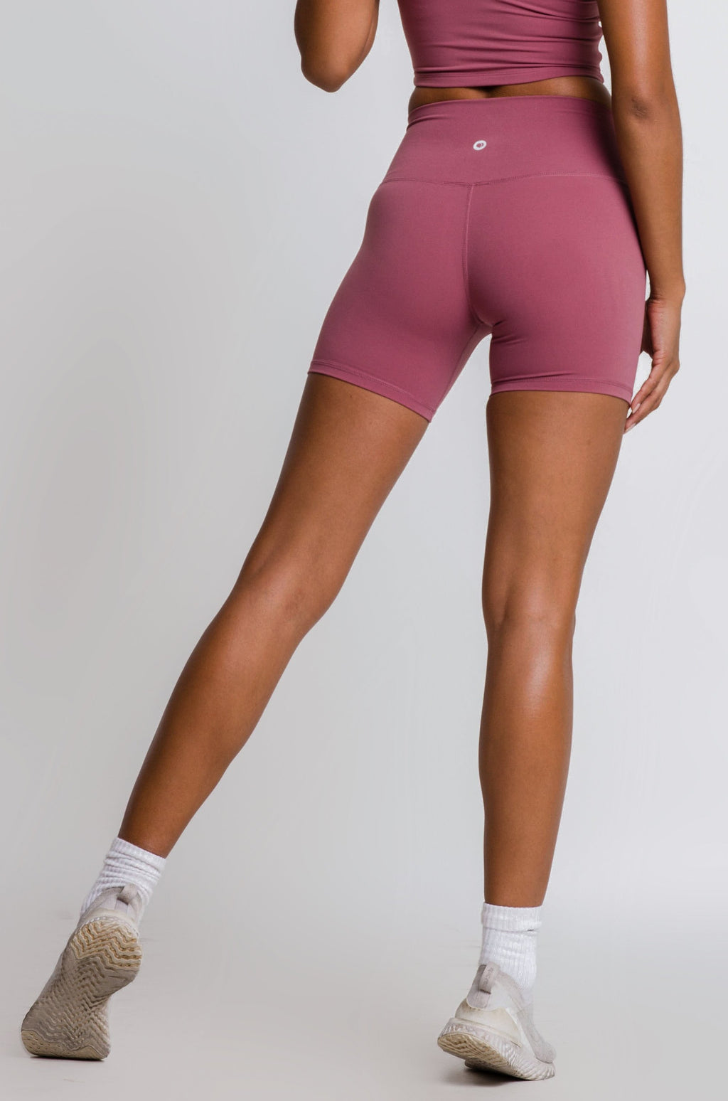 ESSENTIAL SHORTS - DUSTY ROSE