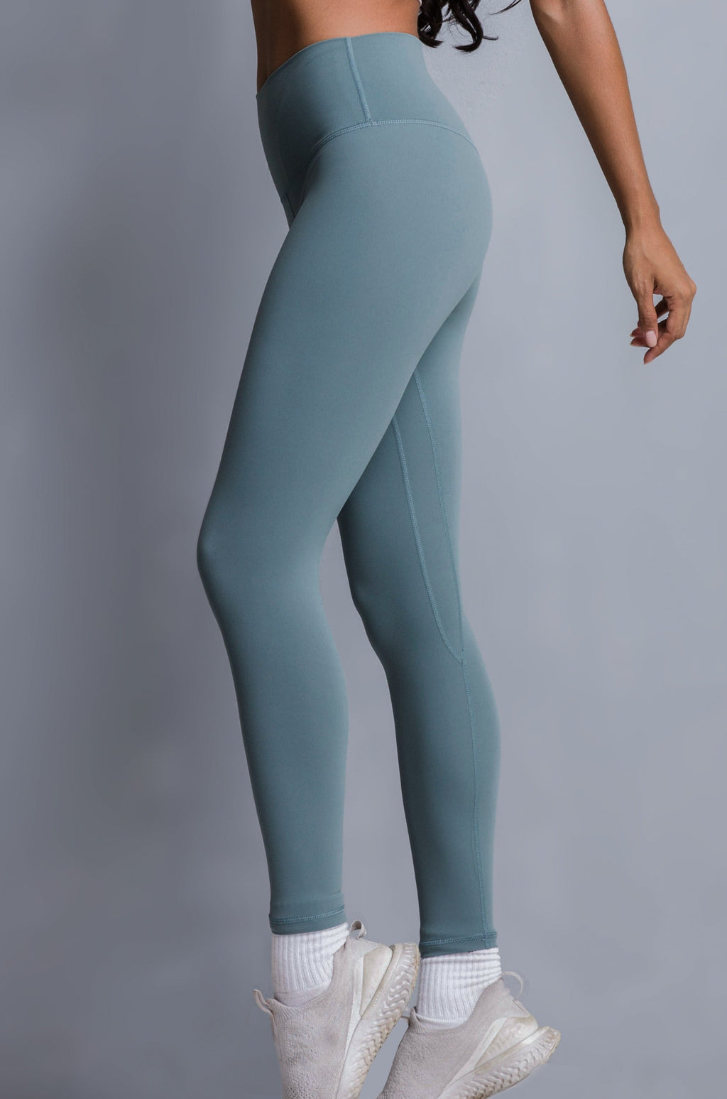 EVERYDAY LEGGINGS - MUTED TEAL