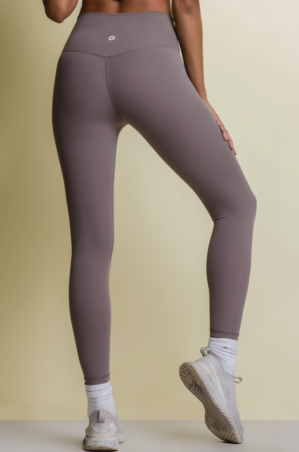 EVERYDAY LEGGINGS - TAUPE GREY