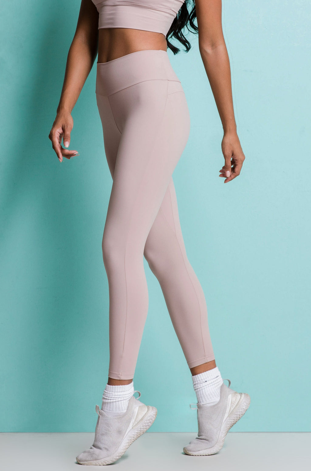POWER LEGGINGS - OATMEAL