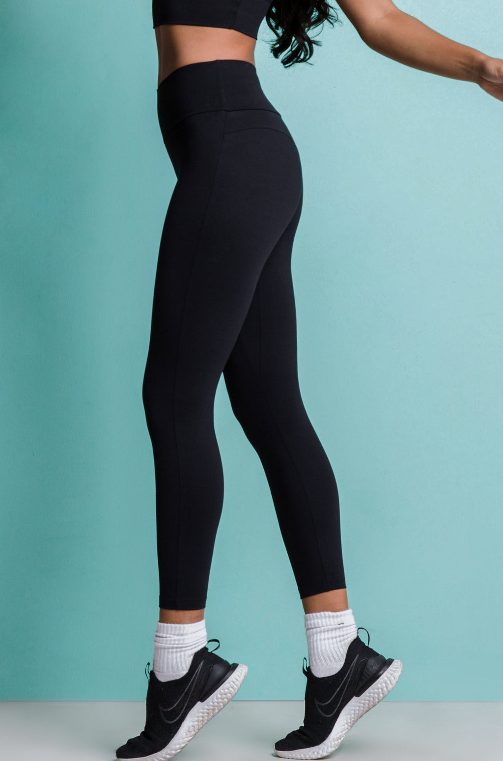 POWER LEGGINGS - RICH BLACK
