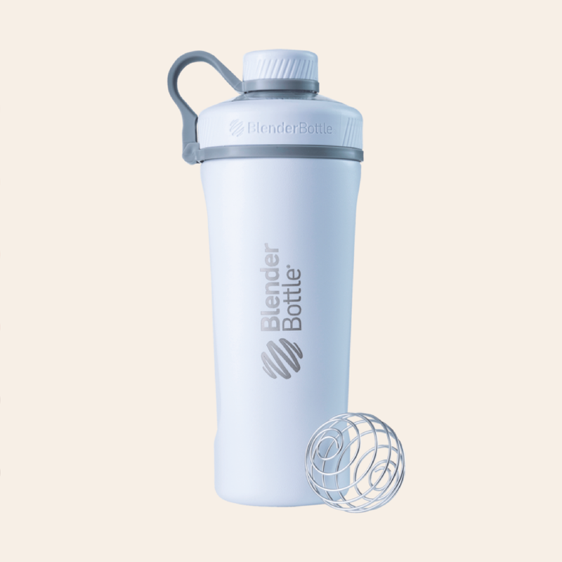 Insulated BlenderBottle - White
