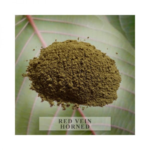 Red Horned Kratom Powder