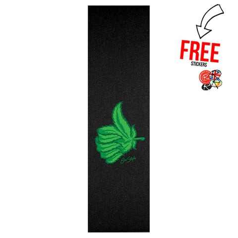 Bro Style Ripper Thumb Skateboard Griptape, Weed