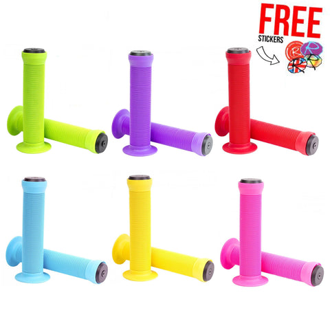 Eco Scooter Toadstool Stunt Scooter / BMX Grips, 6 Colours!