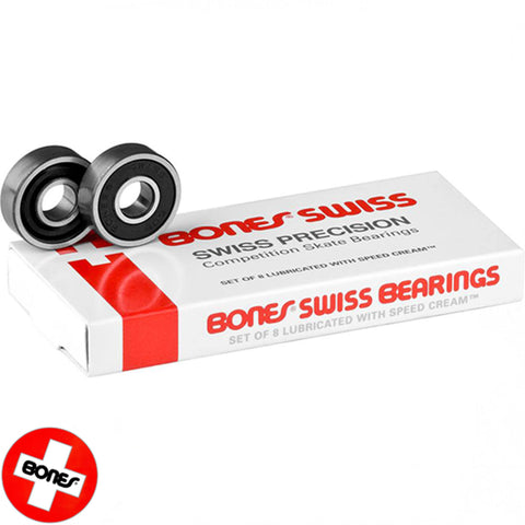 Bones Bearings Swiss Precision Skate Bearings