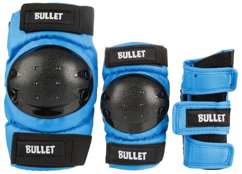 Bullet Combo Standard Padset Junior, Blue Protection Bullet Large