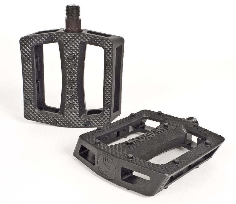 Shadow Conspiracy Revenger Alloy Pedals, Black BMX Shadow Conspiracy