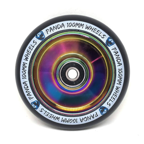 Panda Scooters 100mm Full Core Wheel, Oil Slick