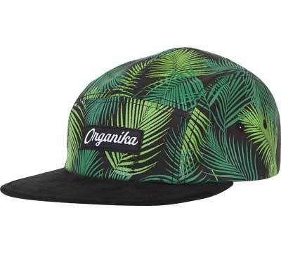 Organika Palms 5 Panel, Green