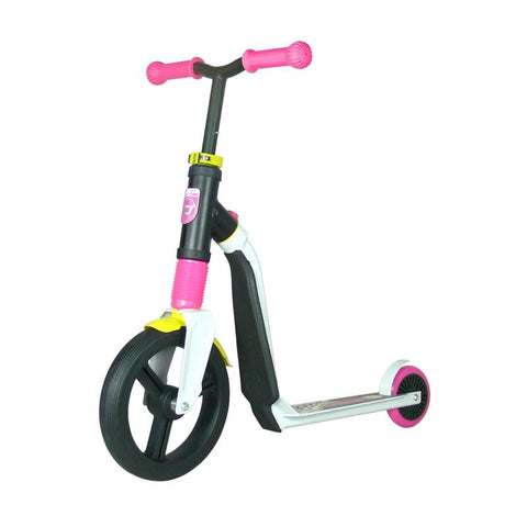 Scoot & Ride Highwayfreak White/Pink/Yellow