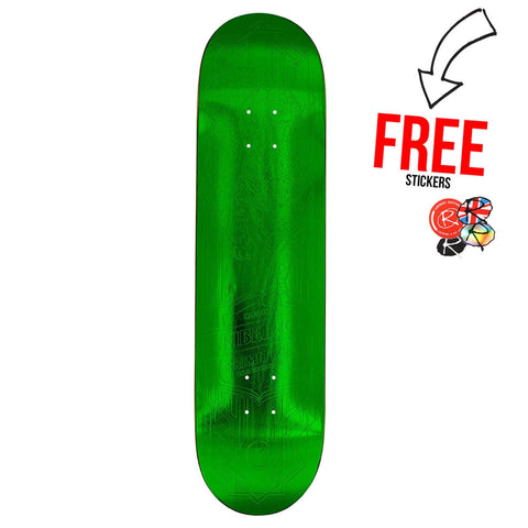 Primitive Skateboards Carlos Ribeiro Foil 8.1, Green