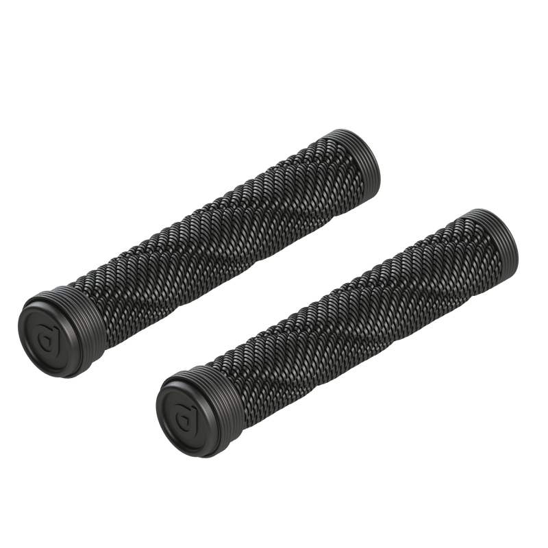 District Scooters Rope Stunt Scooter Grips, Black BMX District